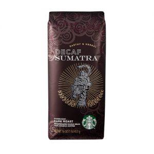 قهوه بدون کافئین سوماترا استارباکس