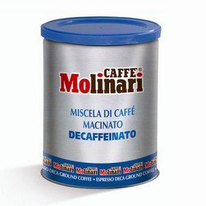 قهوه مولیناری پنج ستاره آسیاب بدون کافئین